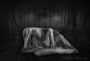 Darkness Artistic Nude Artwork by Photographer AlexxaGrace