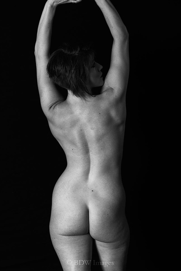 Darkside Artistic Nude Photo by Model Tricia DeAnne
