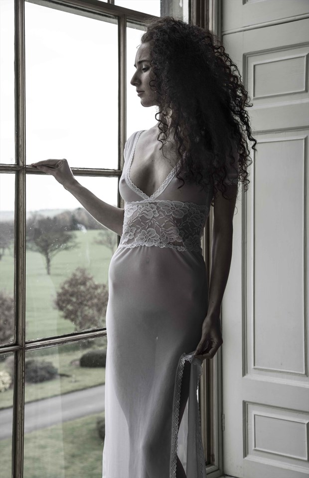 Darling at the window  Artistic Nude Photo by Photographer Richard Benn Photography