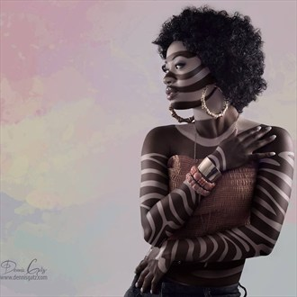 Daughter of the Nile Body Painting Photo by Photographer Dennis Gatz