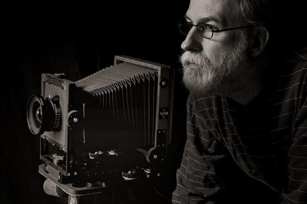 David Aimone, Self Portrait Studio Lighting Photo by Photographer DKA