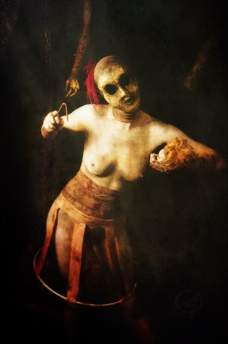 Death Dollie Erotic Photo by Photographer ASHZ