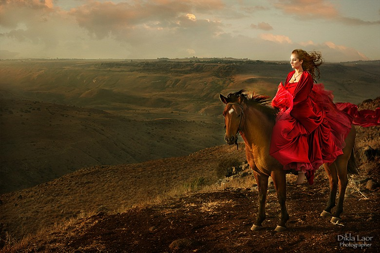 Deborah The prophetess   Biblical Women Surreal Artwork by Photographer Dikla Laor