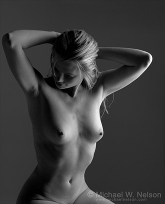 Deena %231 Artistic Nude Photo by Photographer Michael Nelson