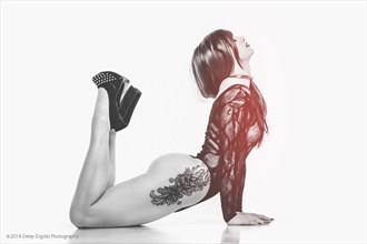 Deep Digital Photography  Tattoos Photo by Model Ashley Love