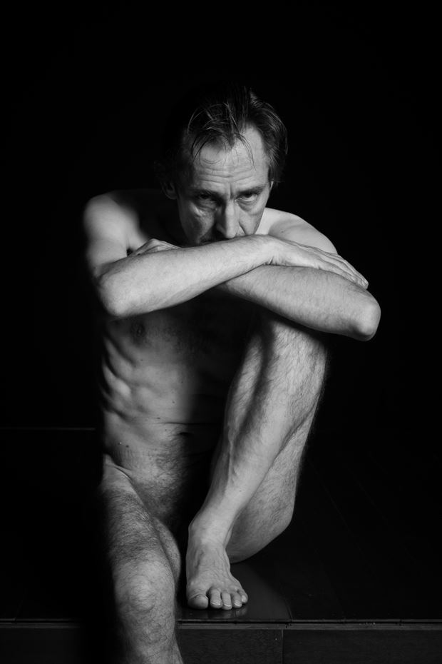 Deep Thought Artistic Nude Photo by Photographer Frisson Art