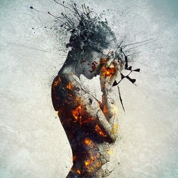 Deliberation Surreal Artwork by Artist Mario S. Nevado