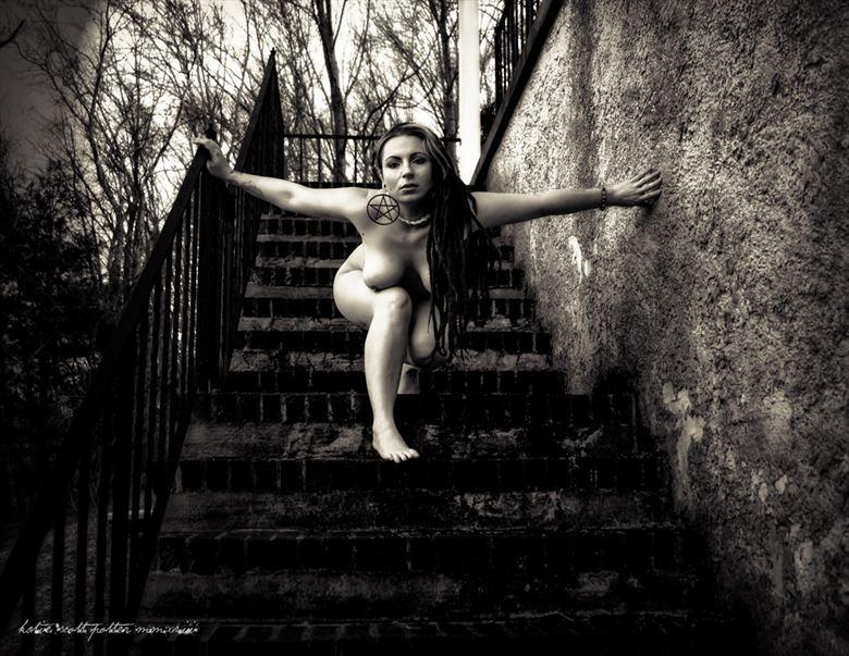 Descending  Artistic Nude Photo by Photographer Katie Potter