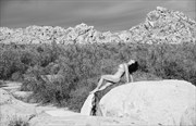 Desert Arch Artistic Nude Artwork by Photographer Thom Peters Photog