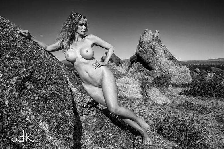 Desert Siren  Artistic Nude Photo by Model Sirsdarkstar