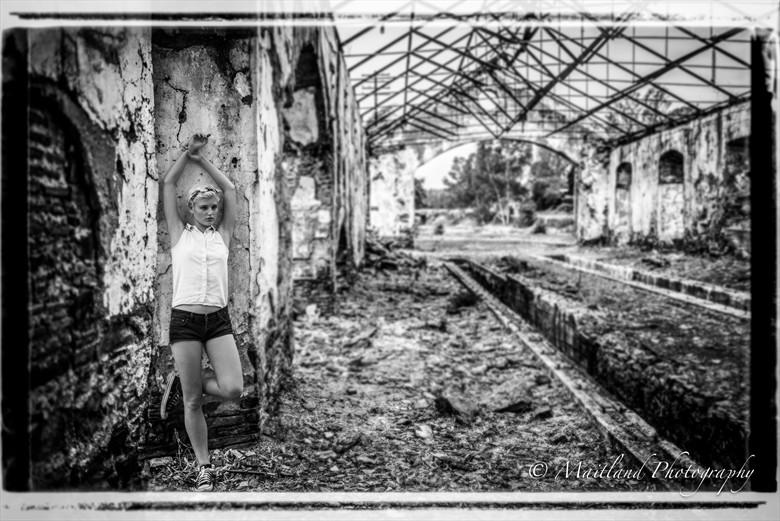 Deserted Fashion Photo by Photographer Stephen Maitland