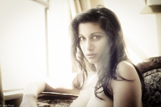 Devi at the Window Implied Nude Photo by Photographer jody frost