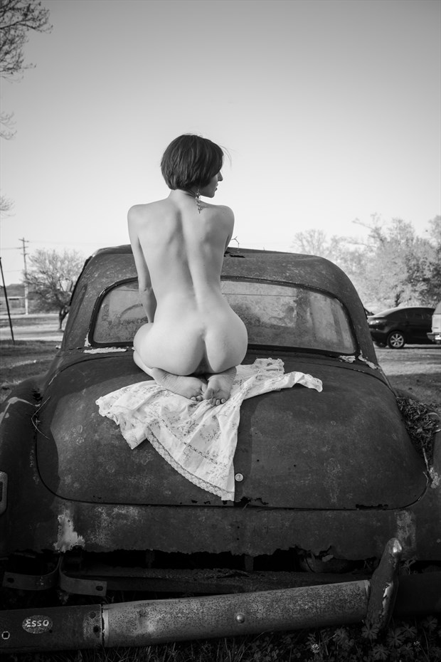 Diamond and Rust Artistic Nude Photo by Photographer Frisson Art