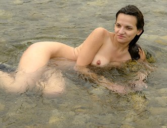 Diana in the river Artistic Nude Artwork by Photographer Positively Exposed Photography