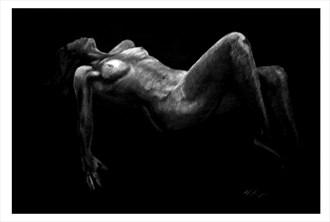 Diane Artistic Nude Artwork by Artist Joel Thompson