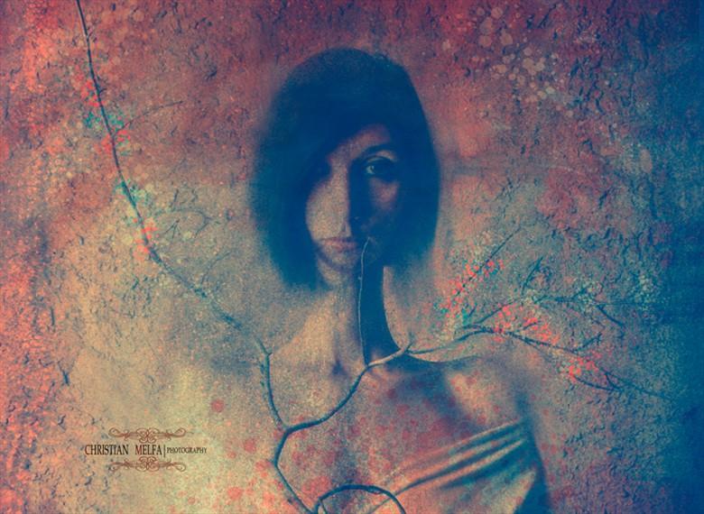 Digital Experimental Artwork by Photographer Christian Melfa