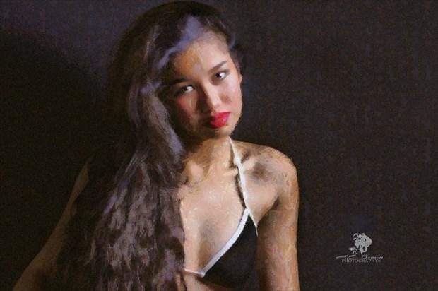 Digital Portrait Artwork by Photographer aebrownphotography