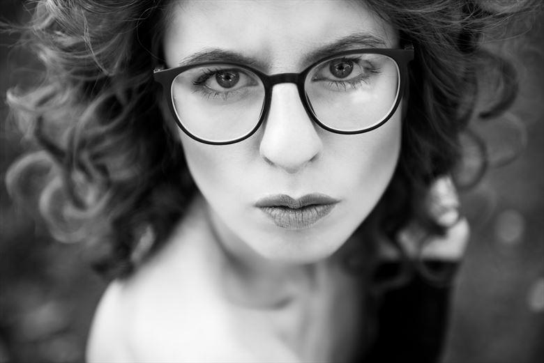 Digital Portrait Photo by Model FAM