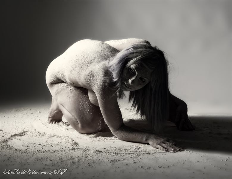 Disintegrating  Artistic Nude Photo by Photographer Katie Potter
