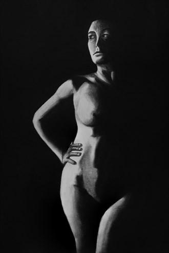 Dissonance II Artistic Nude Artwork by Artist Nadia Vanilla