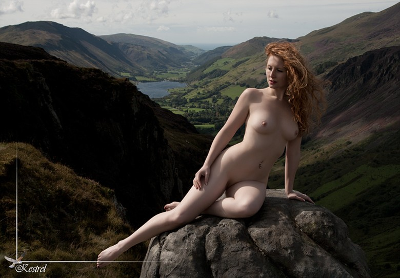 Distant Lake Artistic Nude Photo by Photographer Kestrel