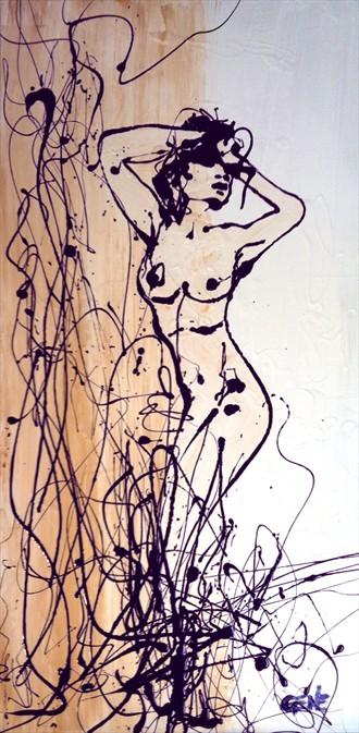 Distract Artistic Nude Artwork by Artist artistGENE