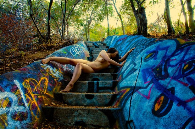 Distraught In Slumberland (Color) Artistic Nude Photo by Photographer Muse Evolution Photography