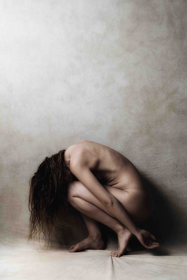 Distress Emotional Artwork by Model RomiMuse