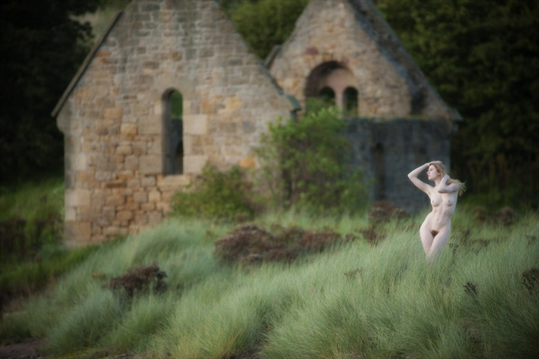 Disused Chapel by George Swift Artistic Nude Photo by Model Jen Somerfield