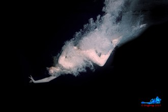 Diver Clothed in Bubbles VII Artistic Nude Photo by Photographer Bogfrog