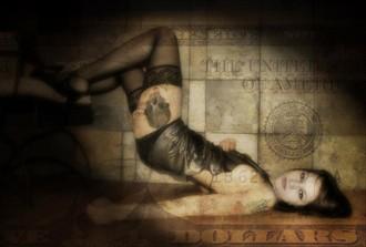 Dollar Bill Tattoos Photo by Model april.xtine