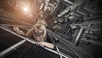 Don't Look Down Fantasy Photo by Photographer EvolutionaryImages