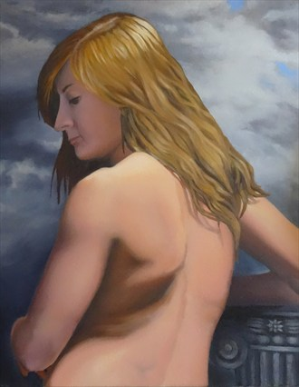 Don't Turn Away Artistic Nude Artwork by Artist TEL