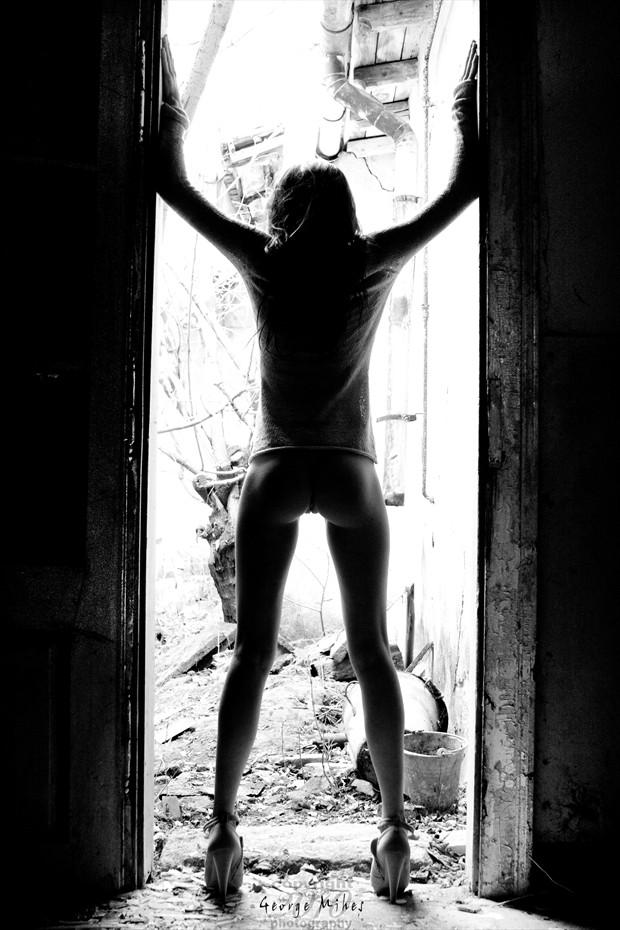 Doorway Artistic Nude Photo by Photographer George Mihes