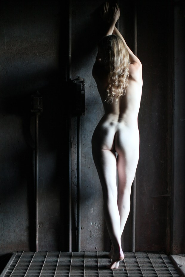 Doorway to Hell Artistic Nude Photo by Model Mila