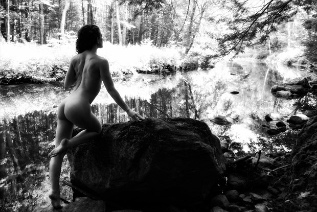 Down by the river Artistic Nude Artwork by Photographer Daniel Tirrell photo