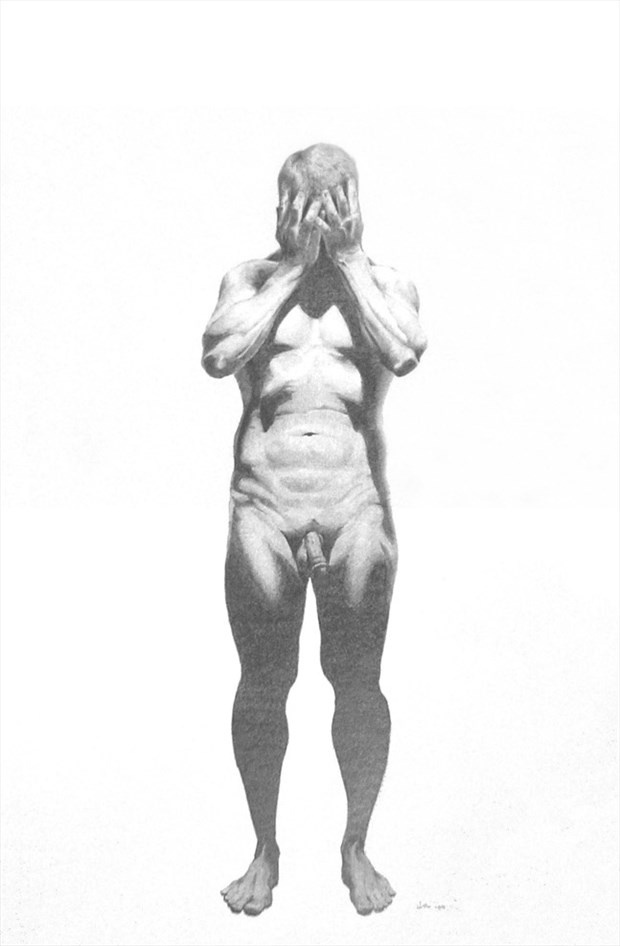 Downlight 1 Artistic Nude Artwork by Artist OutlawArtisans