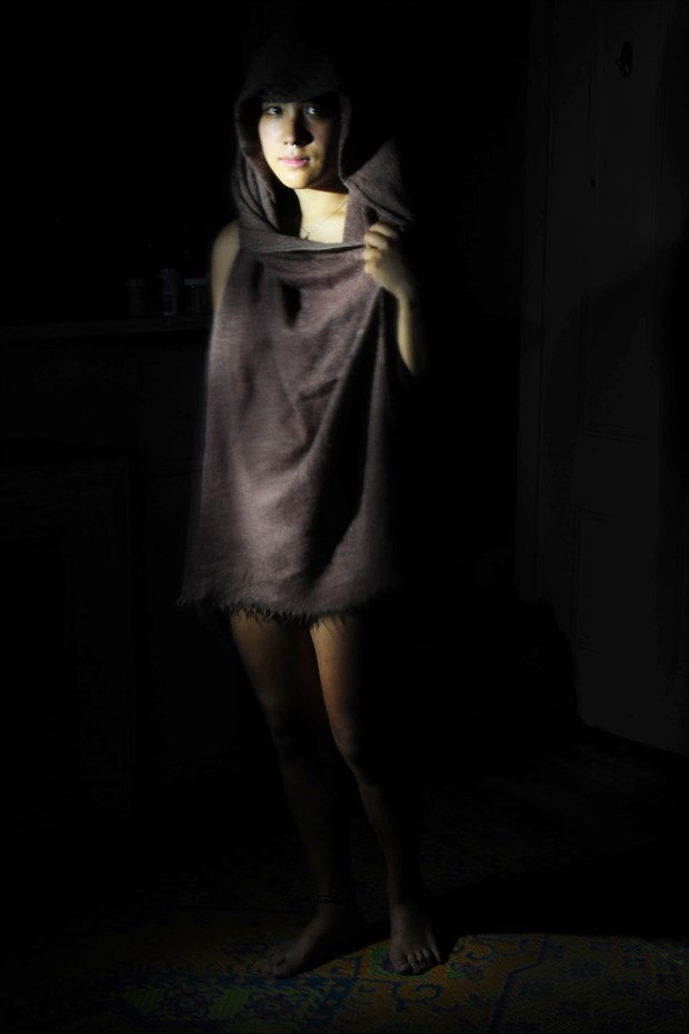 Draped Model Glamour Photo by Photographer NudesinNaturePhotography