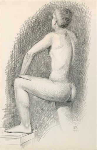 Drawing %231 Painting or Drawing Artwork by Artist FrontStreetFigureDrawing