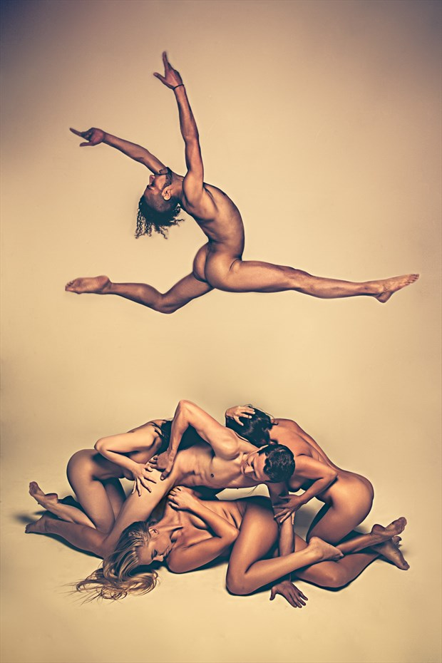 Dream Team Artistic Nude Photo by Model April A McKay