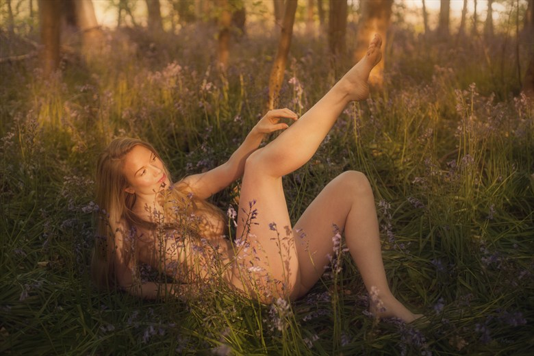 Dream a little dream... Artistic Nude Photo by Model Muse