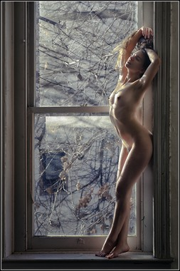 Dream in the Window Pane Artistic Nude Photo by Photographer Magicc Imagery
