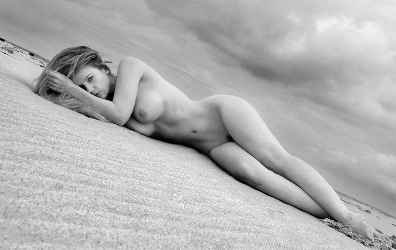Driftwood Artistic Nude Photo by Model Muse