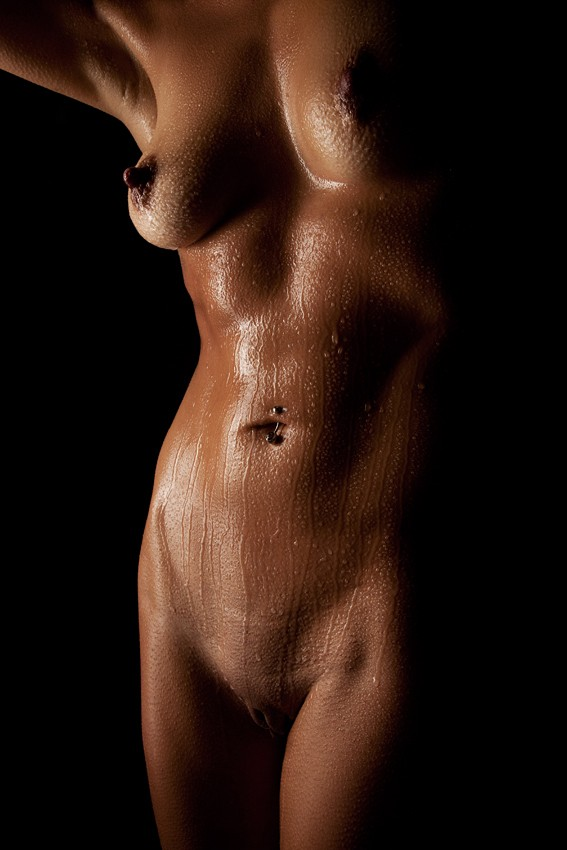 Drops No. 13 Artistic Nude Photo by Photographer Scott Michaels