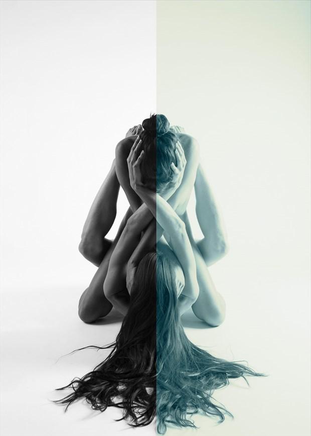 Dualism Artistic Nude Photo by Model Monique