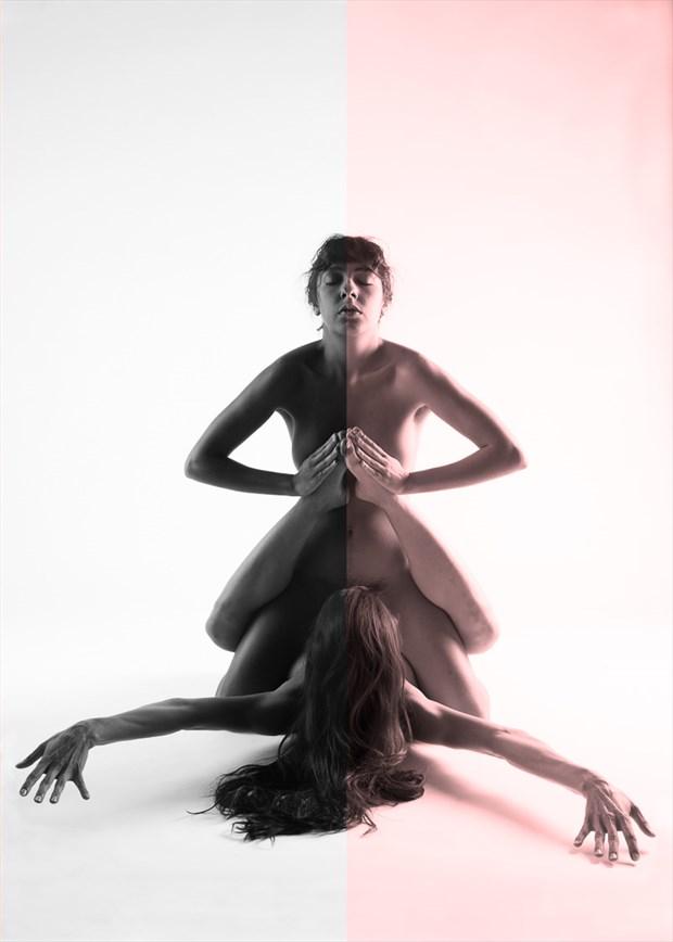 Dualism Surreal Photo by Model Monique