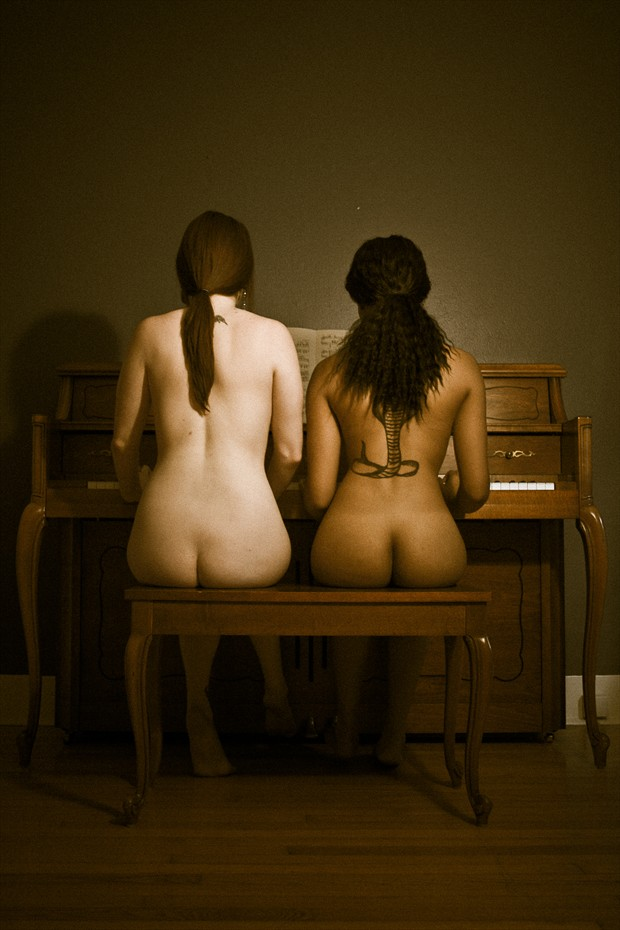 Duet Artistic Nude Photo by Photographer Frisson Art