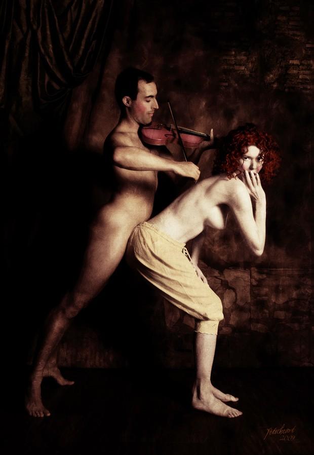 Duet Artistic Nude Photo by Photographer Mark Davy Jones