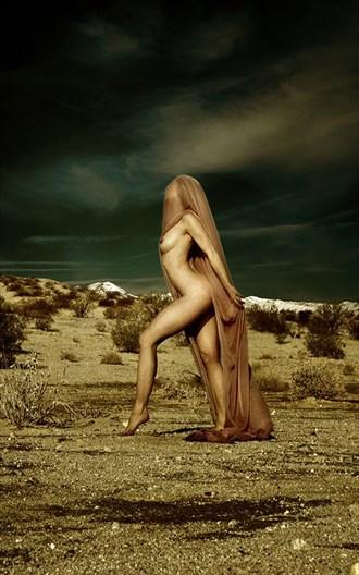 Dust and Stone Artistic Nude Photo by Model Lavanya Maya
