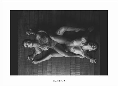 ENTRELA%C3%87ADAS Artistic Nude Artwork by Artist VILDNEI ANDRADE